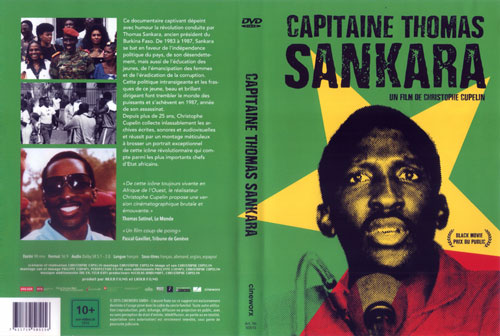 CAPITAINE THOMAS SANKARA a film by Christophe Cupelin Duration 90 min. • Format 16/9 • Audio Dolby SR 5.1 & 2.0 French speaking • Subtitles english, french, german, spanish