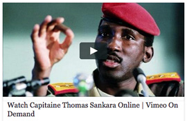WATCH CAPITAINE THOMAS SANKARA ONLINE / VOD IN SWITZERLAND ONLY
