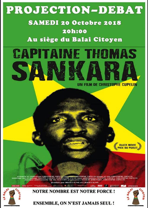 SEMAINE DE COMMEMORATION DES 31 ANS DE L'ASSASSINAT DU CAMARADE CAPITAINE THOMAS SANKARA