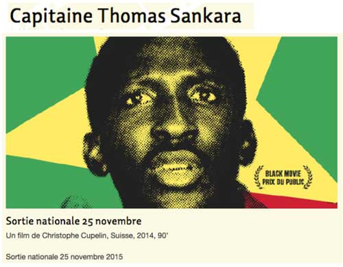 Capitaine Thomas Sankara clapnoir.org, 24 novembre 2015