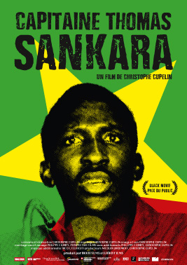 Affiche du film Capitaine Thomas Sankara de Christophe Cupelin